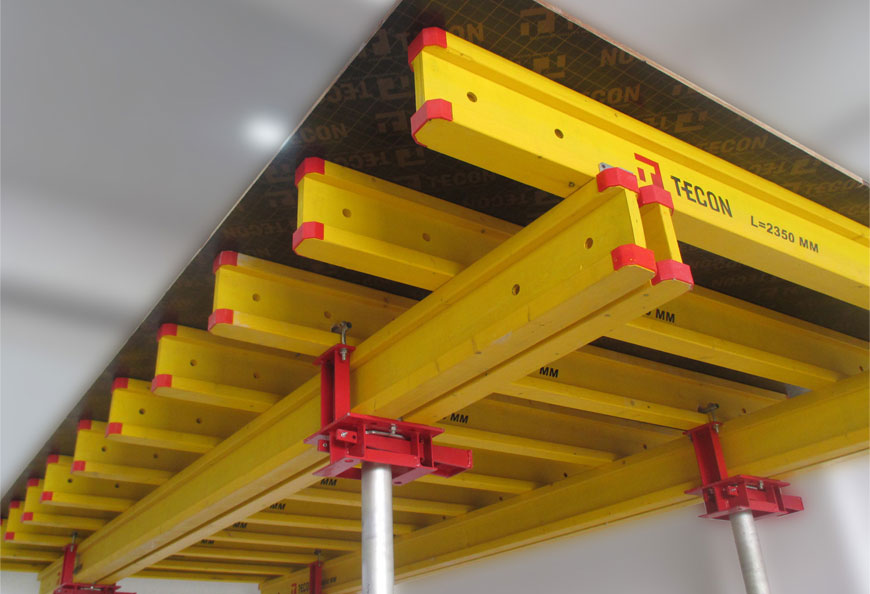 Standard table formwork unit in standard or customized sizes