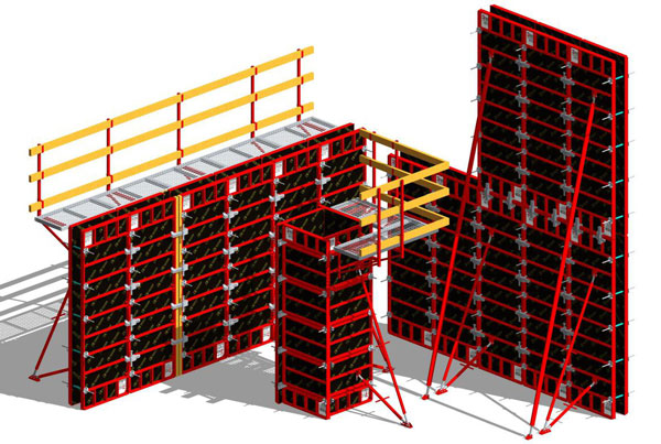 Steel Frame Formwork Upgrade
